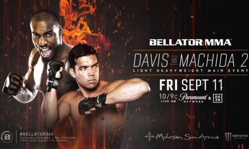 Bellator 245 Davis vs Machida