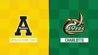 Charlotte vs Appalachian State