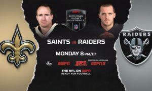 New Orleans Saints vs Las Vegas Raiders