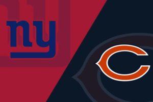 New York Giants vs Chicago Bears