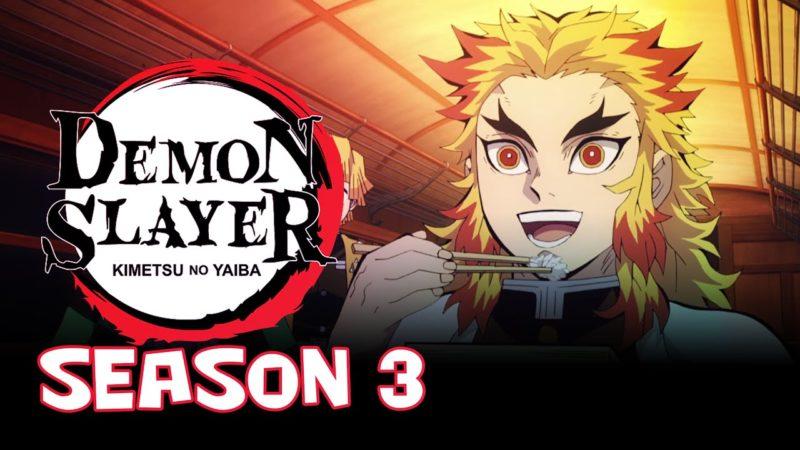 Demon Slayer: Kimetsu No Yaiba Season 3
